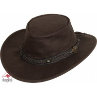 Kangaroo Leather Hat Roo Walkabout