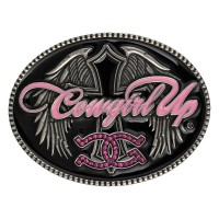 Cowgirl Up® with Winged Cross