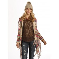 Rock&Roll Cowgirl Ladies Cardigan creme 46-9598