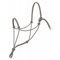 Silvertip Rope Halter Striped