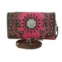 Portemonnaie Tasche Hot Pink