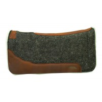 Felt saddlepad with EVA foam insert and Merino wool fleece 35-9332