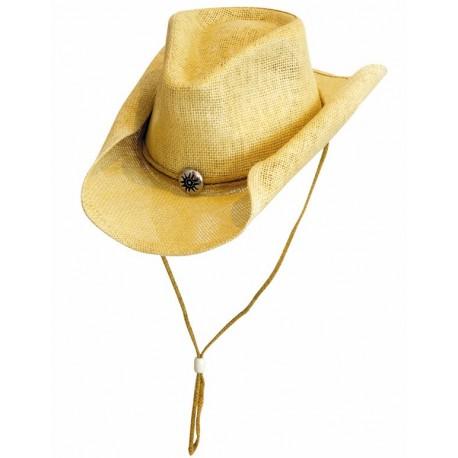 Western Reiten Cowboy Dekor Set 6 Antik Goldene Sterne 2.5cm Conchos