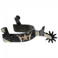 Spur with Gun/Star black