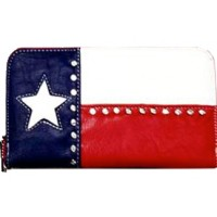 Wallet Texas Flag 500615RWB