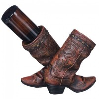 Cowboy Boot Weinflaschenhalter 87-1245