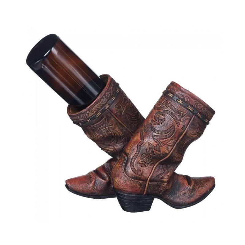 Weinflaschenhalter Cowboystiefel - Tack\'n\'Ride