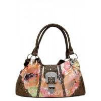 Handtasche Floral 500411FLBR