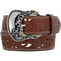 Tony Lama Western Belt Nicole Filigree C51209