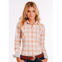 Western Shirt plaid 2197