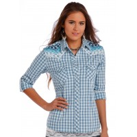 Western Shirt Plaid 1010