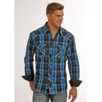 Panhandle Rock & Roll Cowboy Western Shirt B2S2055