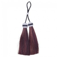 Royal King Double Horsehair Tassel brown 45-2-7