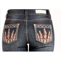 Rock & Roll Cowgirl Mid-Rise Boot Cut 3392