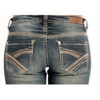 Rock & Roll Cowgirl Riding Bootcut 3397