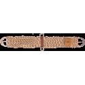 100% Alpaca & Mohair Twist Sattelgurt