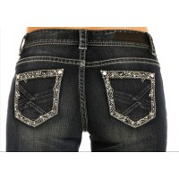 Rock & Roll Cowgirl Riding Jeans 4609