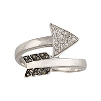 Montana Silversmiths Sparks Will Fly Twisted Arrow Ring RG2745
