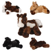 Flopsie Plush Horse brown with white blaze 87-39230-G1