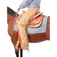 Tough 1 Suede Equitation Chaps tan 63-315