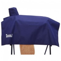 Tough-1 Saddle Cover Cordura Navy Blue