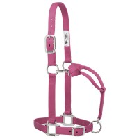 Nylon Halter Chrome