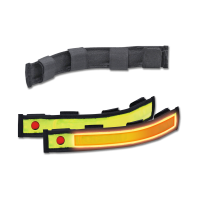 Reflexband mit Blinkfunktion