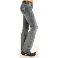 Rock & Roll Cowgirl Mid-Rise Boot Cut Jeans 2332