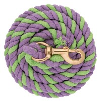 Striped Cotton Lead Rope