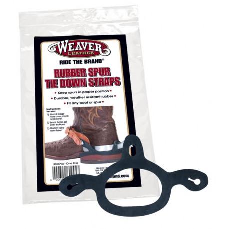 Weaver Leather Spur Tie Down Straps Rubber