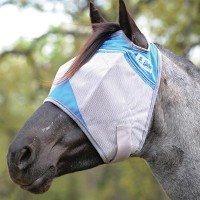 Crusader Fly Mask blue