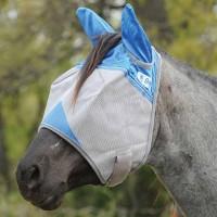 Crusader Fliegenmaske m. Ohren Blau