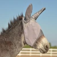 Crusader Fliegenmaske m. Ohren für Esel