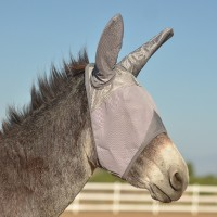 Crusader Fly Mask w. Ears for Donkey