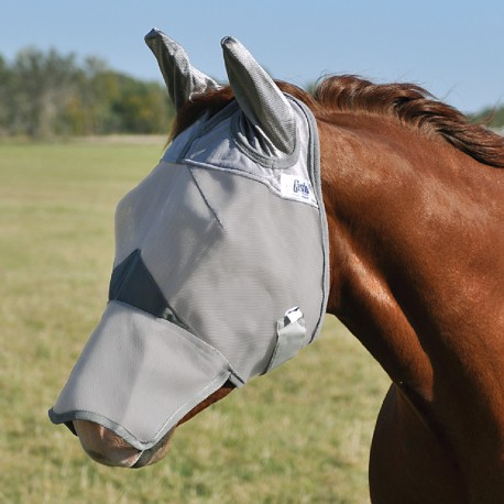 Crusader Fly Mask w. Ears / Nose