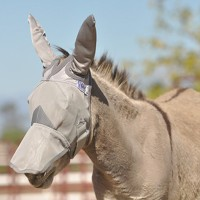 Crusader Mule Fly Mask w. Ears / Nose