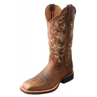 Twisted X Women's Ruff Stock Boot WRS0025 Front