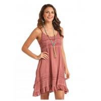 Spray Wash Strap Dress