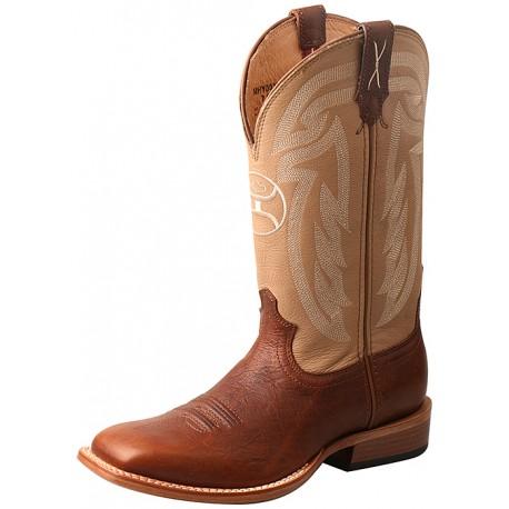 Twisted X Hooey Boot MHY0026 Beige / Haselnuss