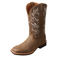 Twisted X Top Hand Western Boot brown WTH0012