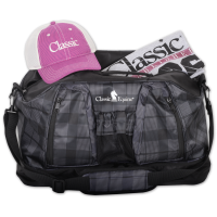 Weekender Duffel black checker