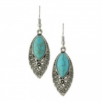 Blue Lace Earrings