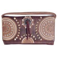 Wallet Circles brown