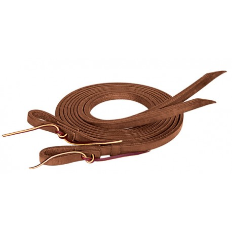 ProTack Harness Leather Oiled Split Reins