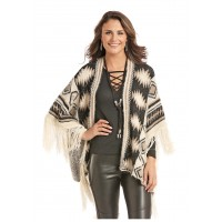 Powder River Fransen Poncho