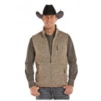 Fleece Sweater Vest Sand