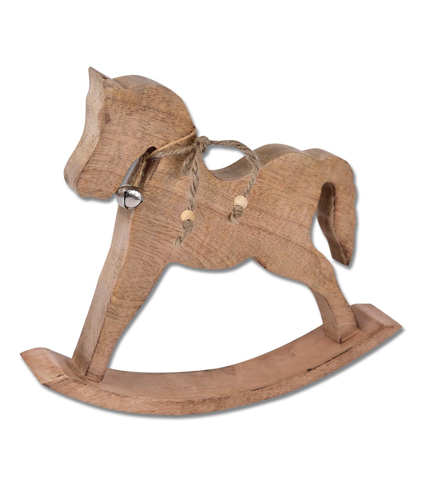 Wooden Rocking Horse Ornament Tack N Ride Westernstore