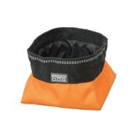 Terrain Dog, Collapsible Travel Bowl, small, orange