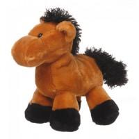 Plush Horse brown with black mane