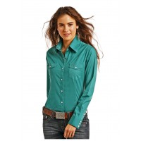 Stretch Poplin Shirt 34